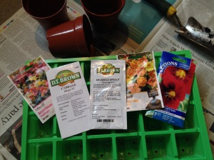 The next batch of seeds to be sown