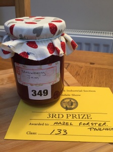 Third for my strawberry jam